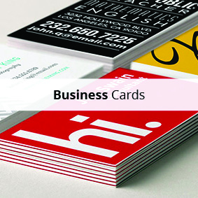 Business card printing and Design in Brighton and Hove